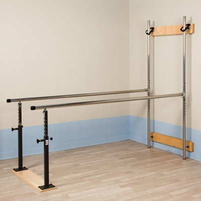 Physical Therapy Wall Mounted Parallel Bars - 7ft
