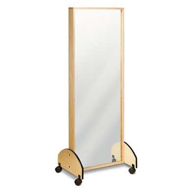 """Physical Therapy Mobile Adult Mirror 72""""H"""