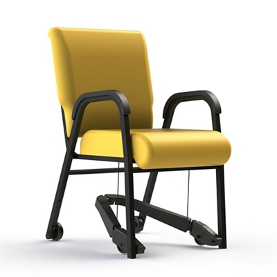 "Vinyl Chair with Mobility Assistor - 20""W Seat"