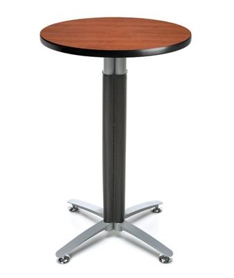 "24""Rd Metal Mesh Base Table"