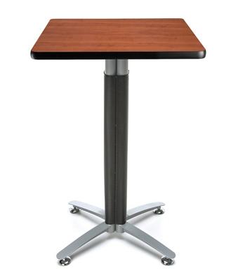 """24"""" Square Metal Mesh Base Table"""