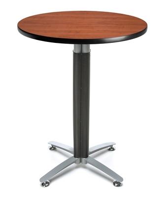 """30""""Round Metal Mesh Base Table"""