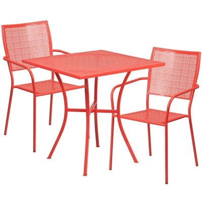 """35.5""""W Table and Two Chairs"""