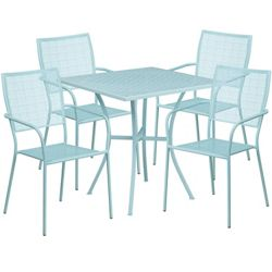 """35.5""""W Table and Four Chairs"""