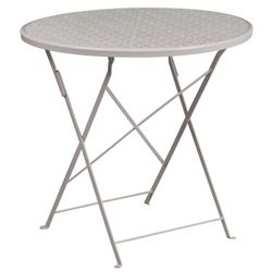 "Folding Patio Table - 30""W"