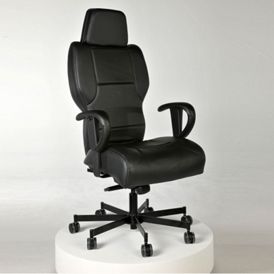 Executive 24/7 Intensive Use Genuine Leather Chair