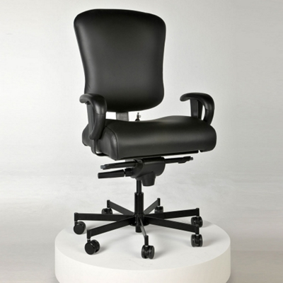 Ergonomic 24/7 Intensive Use Faux Leather Chair