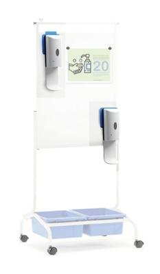 Chart Stand Sanitizer Kit