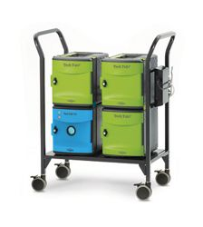 Cart with UV Tub 18 iPads