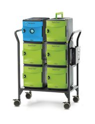Cart with UV Tub 26 devices