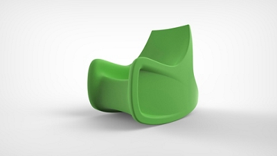 Behavioral Health Radial Rocking Chair