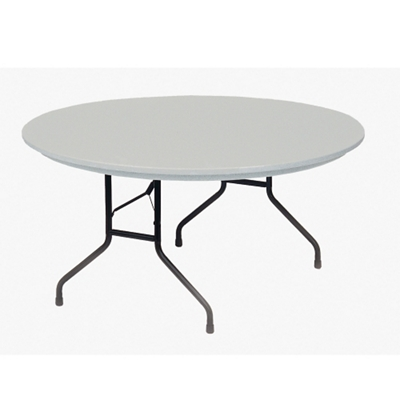 "Lightweight Plastic Folding Table - 60""DIA"