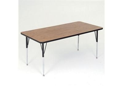 Adjustable Height Rectangular Table 60 X 30   46313 And More Lifetime  Guarantee