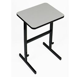 """Workstation with Manual Height Adjustment - 36""""W x 24""""D"""