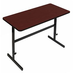 """Workstation with Manual Height Adjustment - 48""""W x 24""""D"""