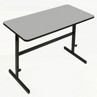 "Workstation with Manual Height Adjustment - 60""W x 30""D"