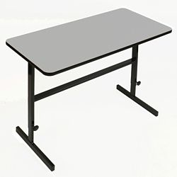 """Workstation with Manual Height Adjustment - 60""""W x 30""""D"""