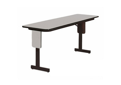 "Adjustable Height Panel Leg Table 96"" x 24"""