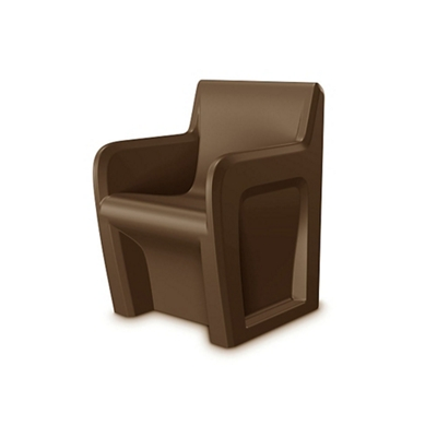 Behavioral Health Armchair with Ballast Door