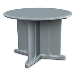 "Behavioral Health Dining Table - 42""DIA"