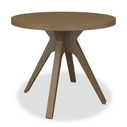 "Durable Faux Wood End Table - 28""W"