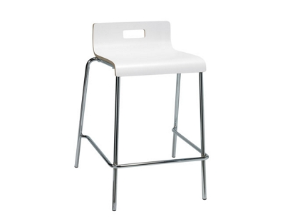 Low-Back Counter-Height Stool