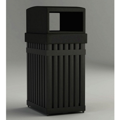 25 Gallon Waste Receptacle with Rectangular Opening