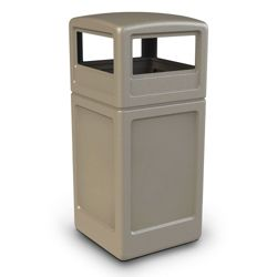 Dome Lid Waste Receptacle - 42 Gallon