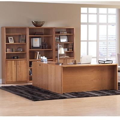 Medium Oak Complete Office Set