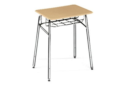 """Adjustable Height Study Top Desk with Steel Glides -  24"""" to 30""""H"""