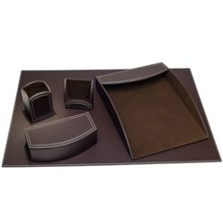 Five Piece Desk Accessory Set