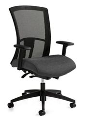 High Back Synchro-Tilter Mesh Back Task Chair