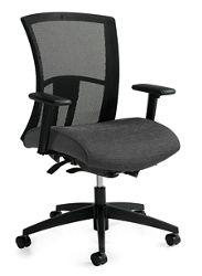 Mid-Back Synchro-Tilter Mesh Back Task Chair