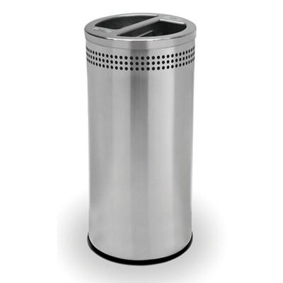 Trash and Mixed Recycling Receptacle - 20 Gallon