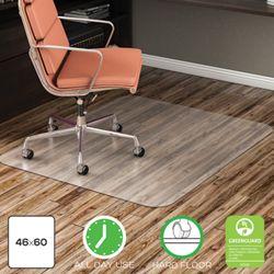"Classic Chair Mat 46""W x 60""D for Hard Floors"