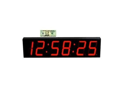 LED Timer Clock with 5