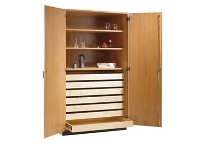 "Laboratory Specimen Storage Cabinet - 48""W"