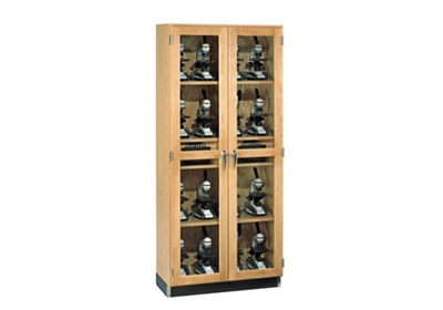 "Laboratory Storage Cabinet with Microscope Charger - 36""W"