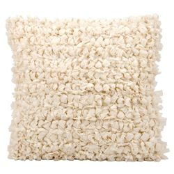 """kathy ireland by Nourison Loop Shag Square Accent Pillow - 20""""W x 20""""H"""