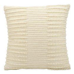 "kathy ireland by Nourison Pearl Striped Rectangular Pillow - 16"" x 16"""