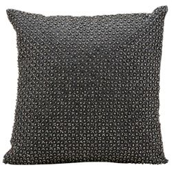 "kathy ireland by Nourison Beaded Square Accent Pillow - 16""W x 16""H"