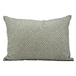 "kathy ireland by Nourison Beaded Rectangular Accent Pillow - 20""W x 14""H"