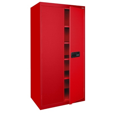 "72""H Storage Cabinet with Keyless Electronic Lock"