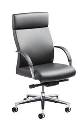 Executive Conference Chair in Leather and Faux Leather