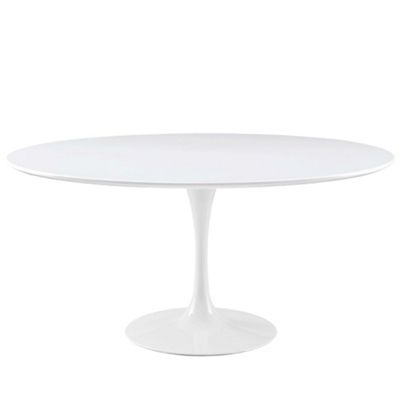 "60"" Wood Top Round Table"
