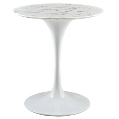 "28"" Artificial Marble Dining T"