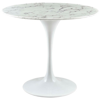 "36"" Artificial Marble Dining T"