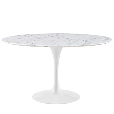 "54"" Artificial Marble Table"