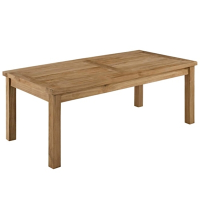 Outdoor Patio Teak Rectangle C