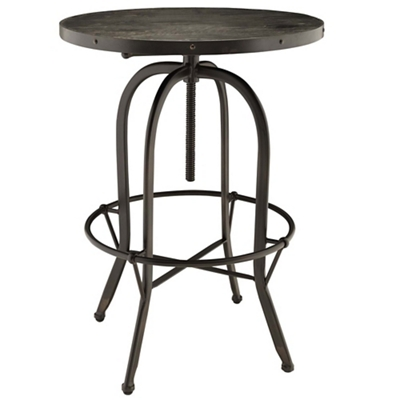 Wood Top Bar Table